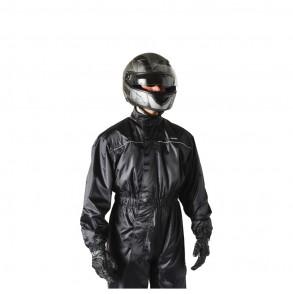 combinaison de pluie moto scooter noir ksk