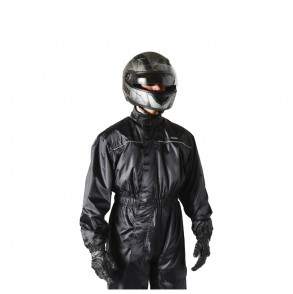 combinaison de pluie premium moto scooter noir ksk