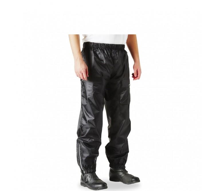 pantalon de pluie premium moto scooter noir ksk