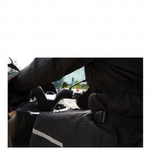 tablier de protection scooter noir um