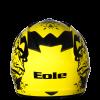 casque cross jaune legacy éole