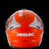 casque cross orange fight ksk