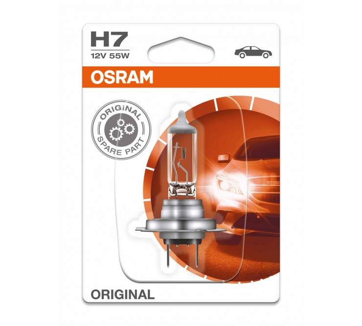 ampoule h7 12v 55w moto scooter osram