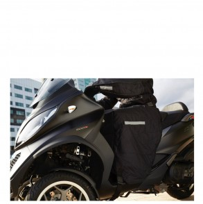 tablier de protection scooter noir um