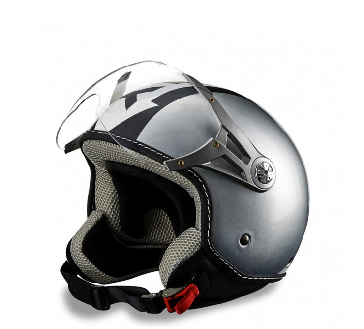 Casque One Way Silver