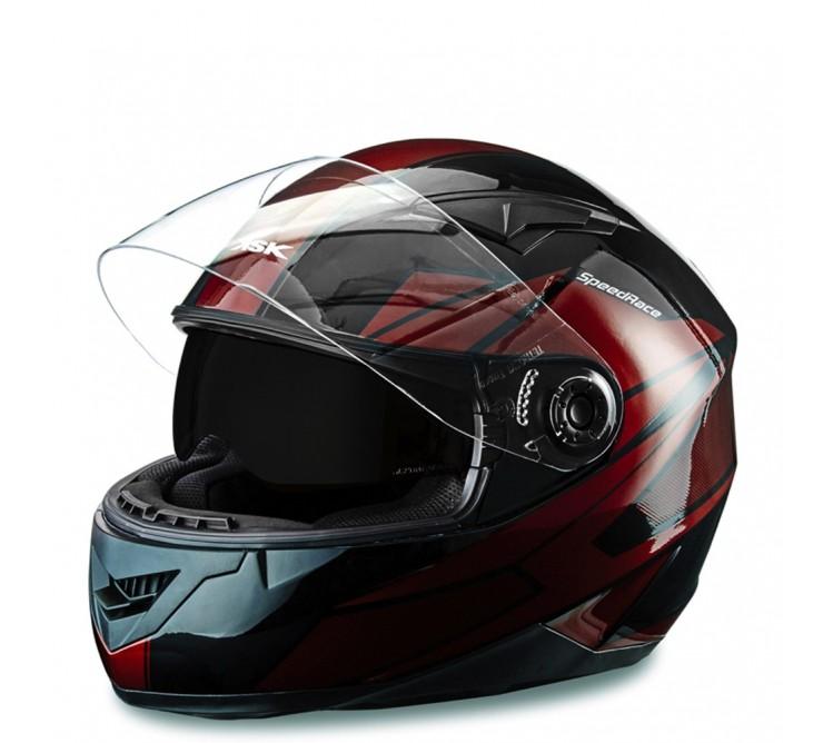 casque intégral bordeaux speed racer ksk