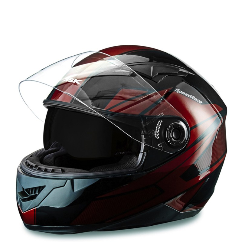 casque speed racer ksk casque int gral homologu scooteo. Black Bedroom Furniture Sets. Home Design Ideas