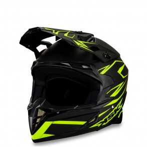 casque cross jaune fluo sundry ksk