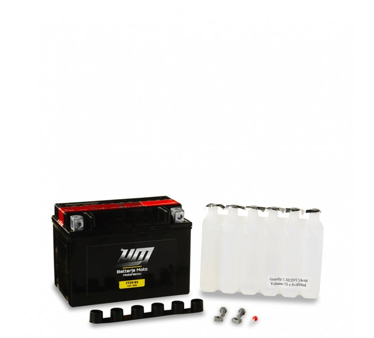 BATTERIE MOTO/SCOOTER - YTX9-BS