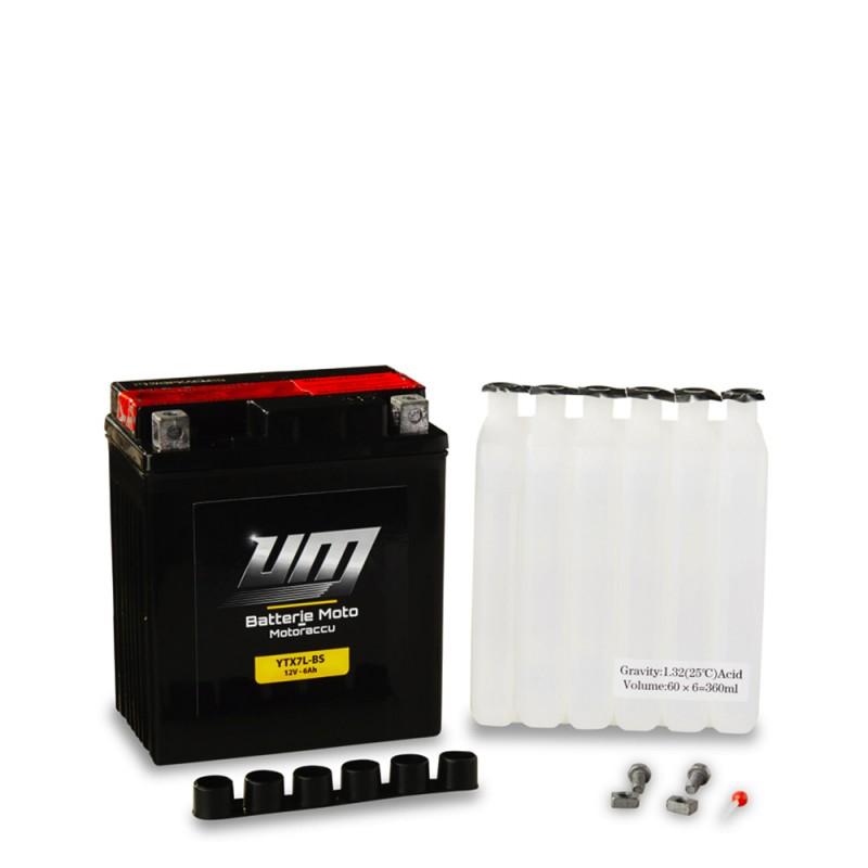 Avec quoi remplir batterie moto