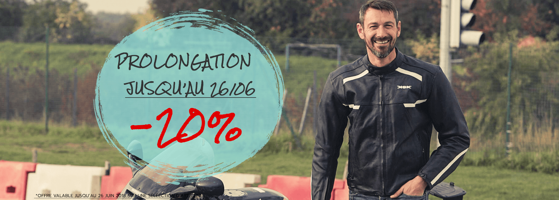 Prolongation promo -20%
