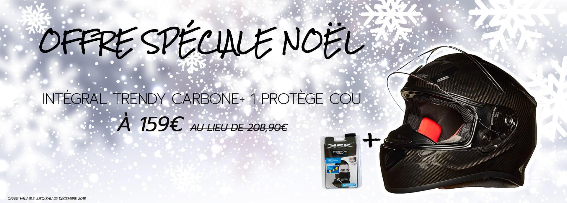 Offre spéciale Noël - Casque Intégral Trendy