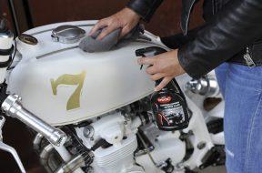 Nettoyage moto